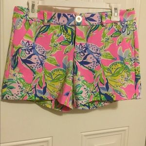 Lilly Pulitzer Knit Callahan Shorts Size 2, NWOT